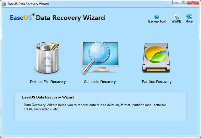 EASEUS Data Recovery Wizard latest version