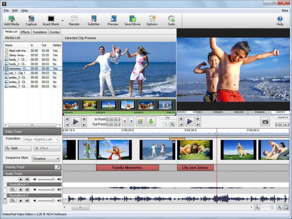 VSDC Video Editor latest version