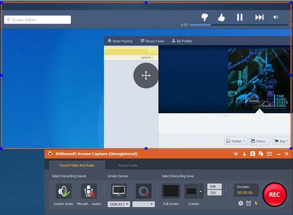 4Videosoft Screen Capture latest version
