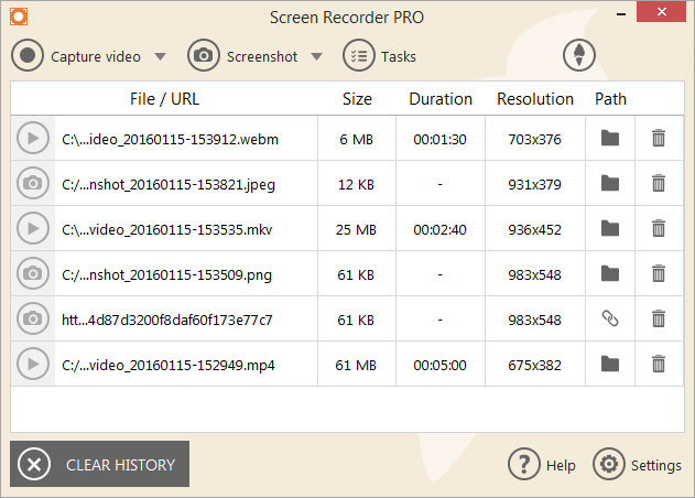 Icecream Screen Recorder Pro latest version