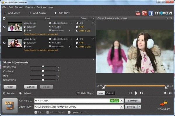 Movavi Video Converter latest version