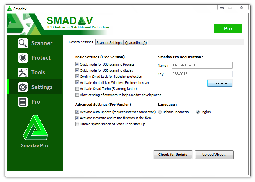 Smadav Pro windows