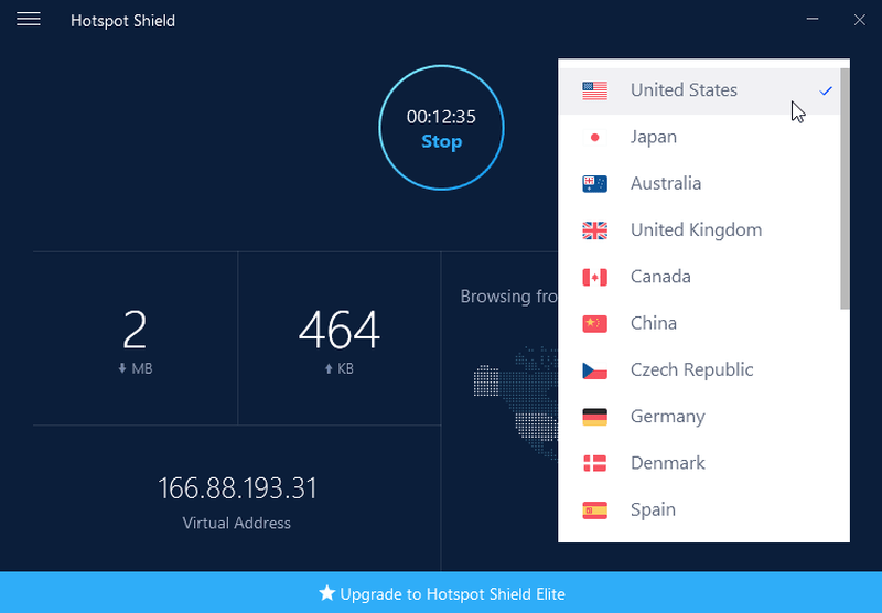 Hotspot Shield VPN Elite latest version