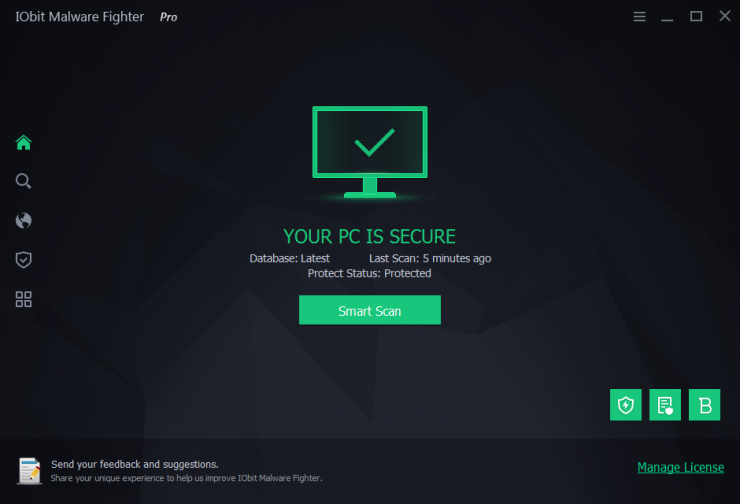 IObit Malware Fighter Pro windows