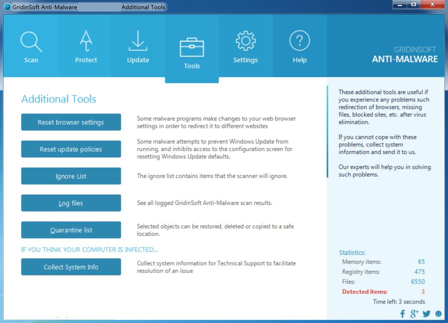 GridinSoft Anti-Malware latest version