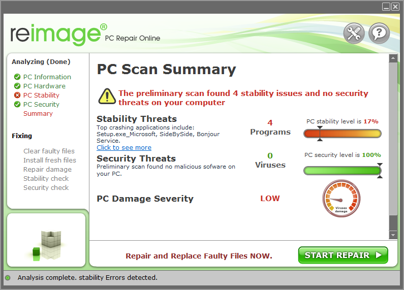 Reimage Pc Repair windows