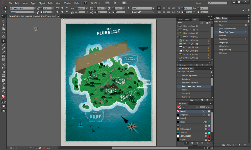 Adobe InDesign CC latest version