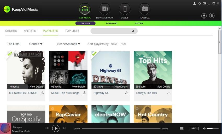 KeepVid Music latest version