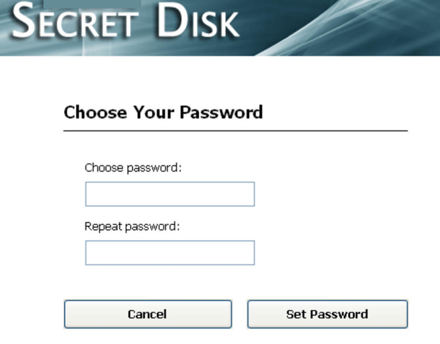 Secret Disk windows