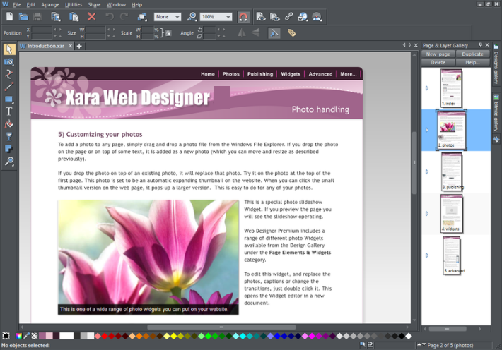 Xara Web Designer Premium latest version