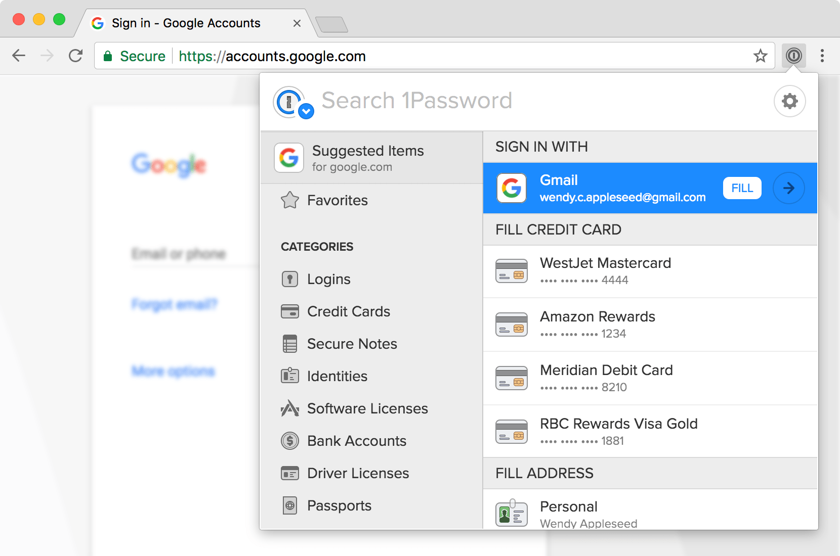 1Password windows