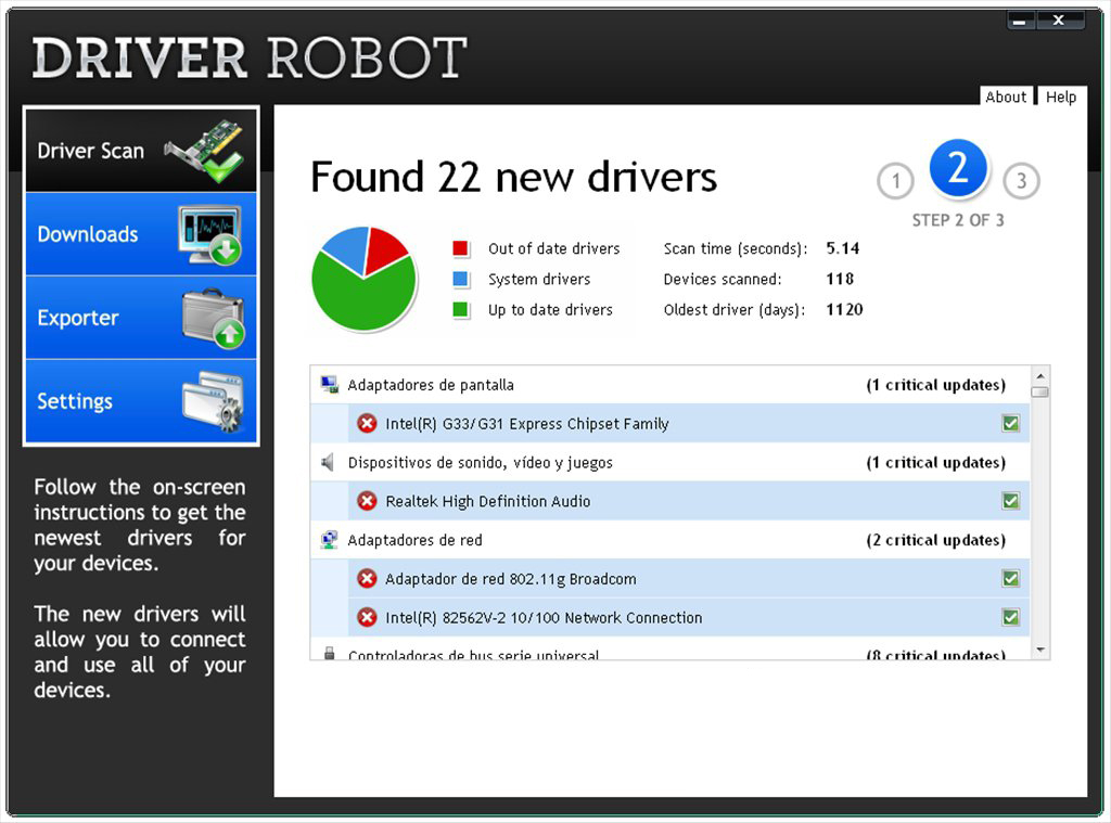 Driver Robot windows