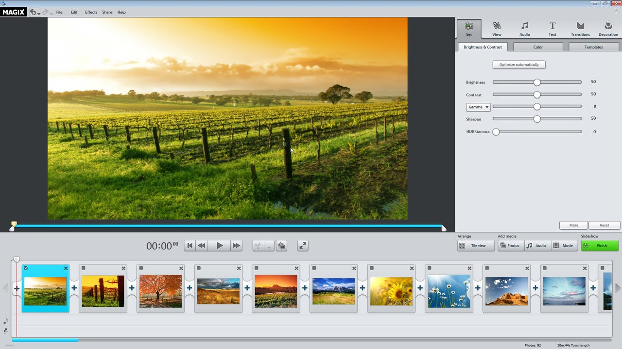 MAGIX Photostory Easy windows