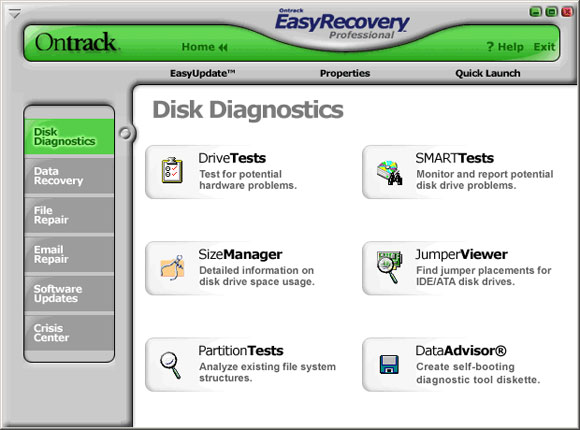 Ontrack EasyRecovery Professional latest version