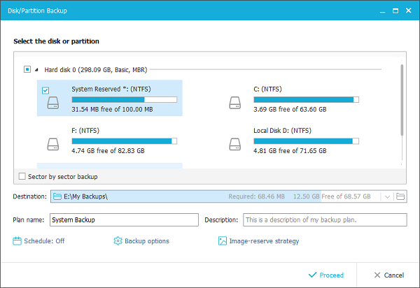 EaseUS Todo Backup latest version