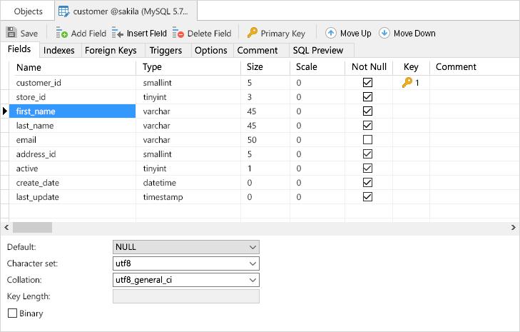 Navicat for MySQL windows