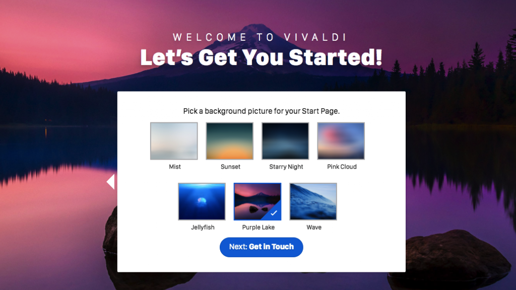 Vivaldi windows