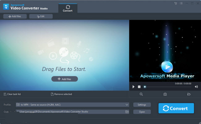 Apowersoft Video Converter Studio latest version