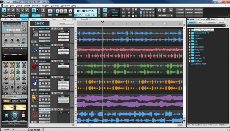 Cakewalk SONAR Platinum latest version