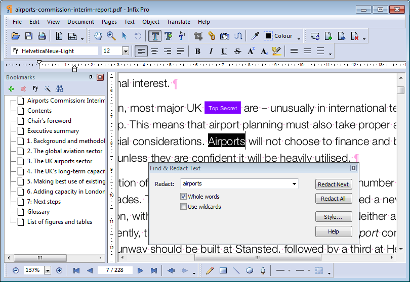 Infix PDF Editor Pro windows