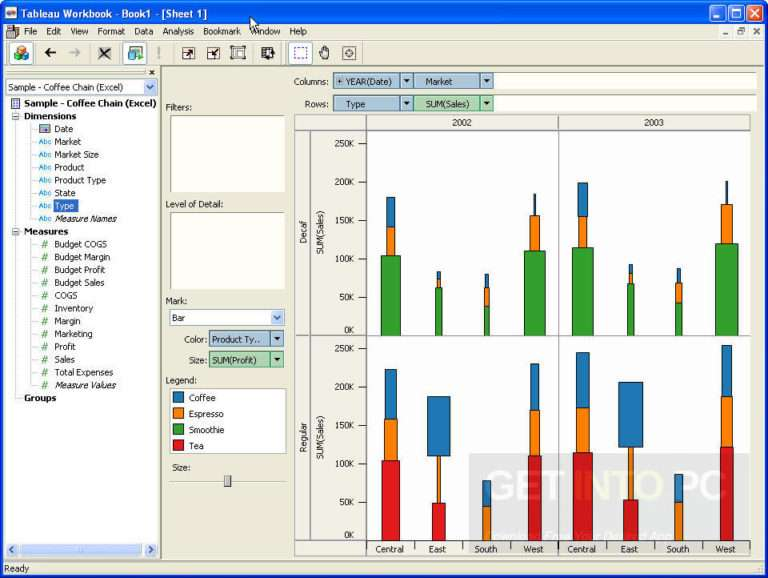 Tableau Desktop Professional latest version