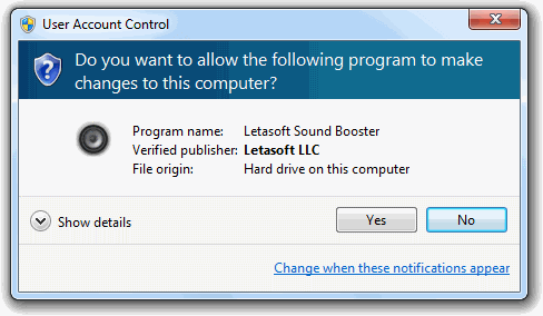 Letasoft Sound Booster windows