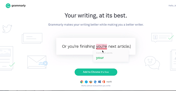 Grammarly windows