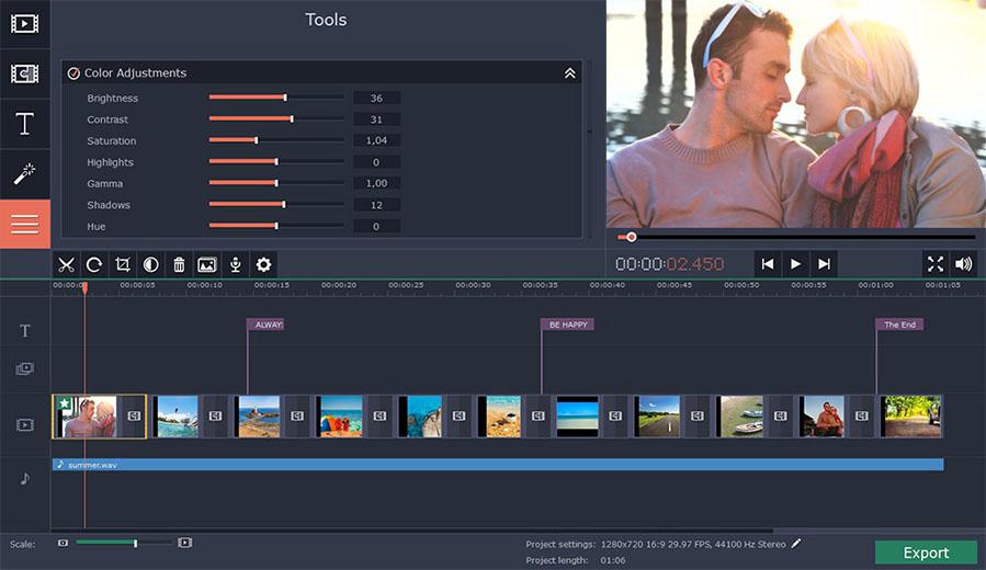 Movavi Slideshow Maker latest version