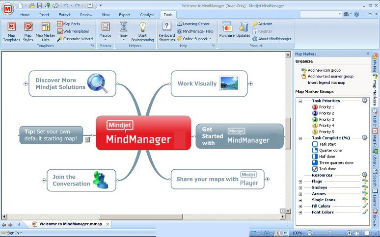 Mindjet MindManager latest version