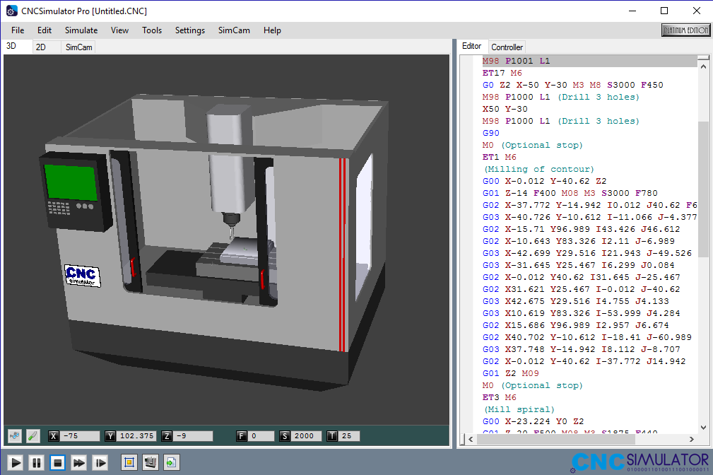 CNC Simulator Pro windows