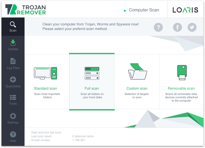 Loaris Trojan Remover latest version