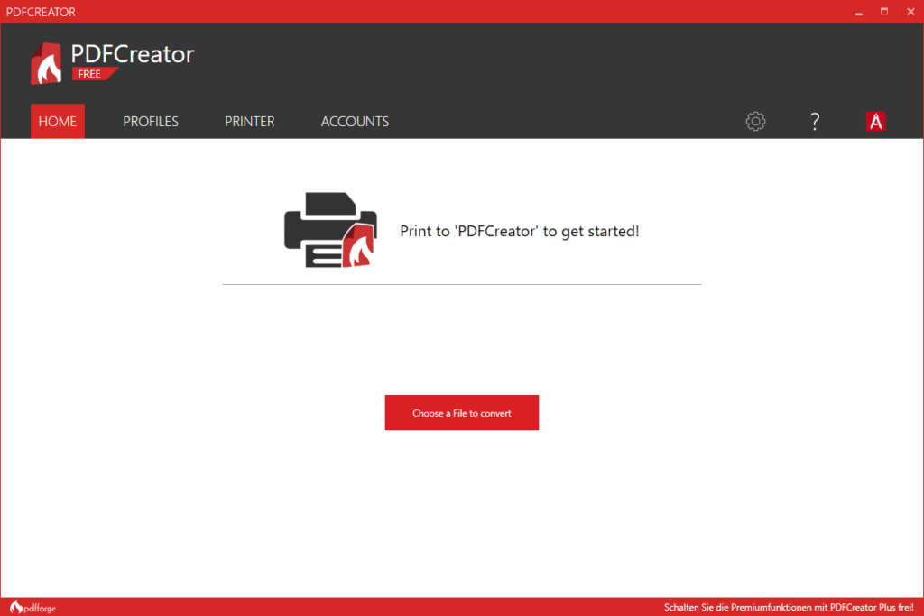 PDFCreator windows