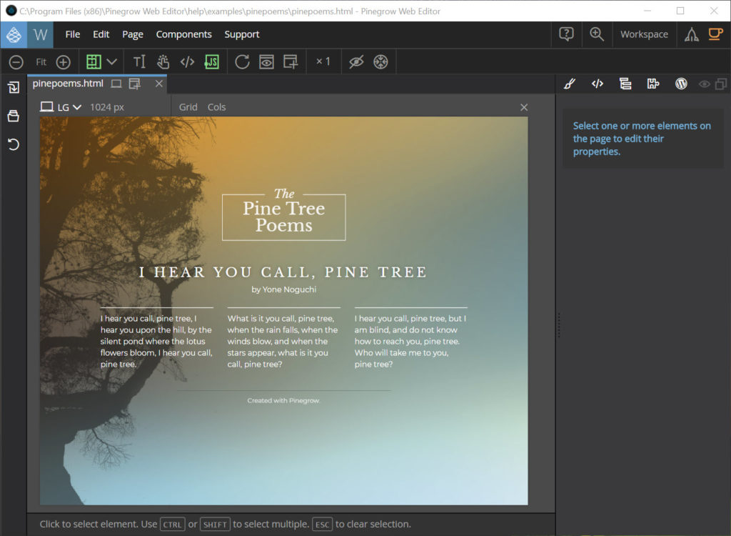 Pinegrow Web Editor latest version