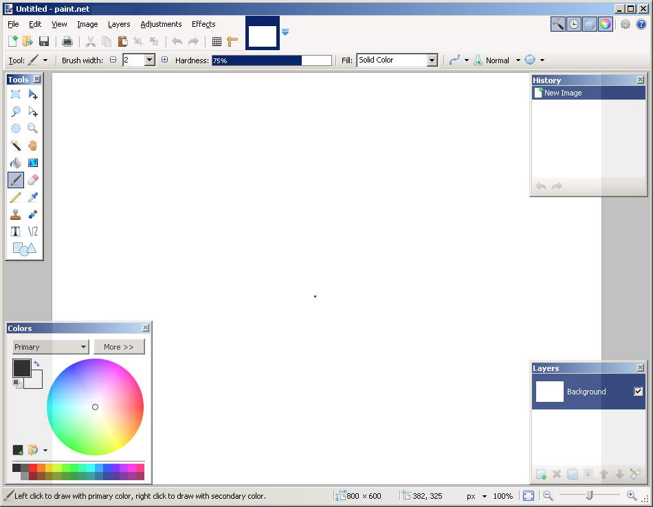 Paint.NET windows