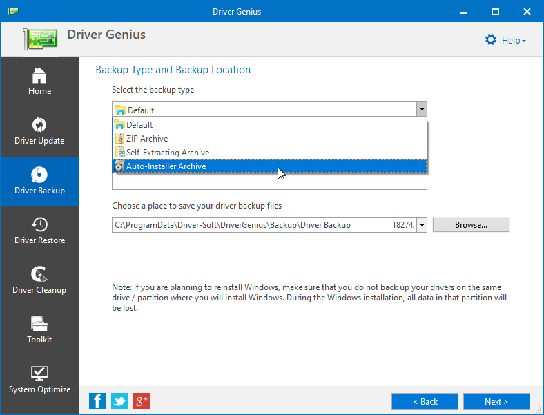 Driver Genius windows