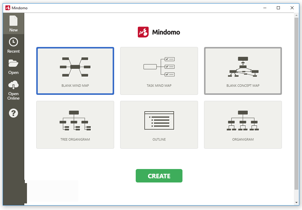 Mindomo Desktop windows