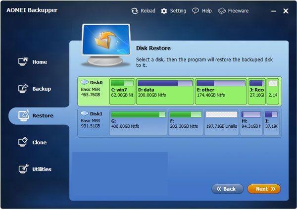 AOMEI Backupper Professional latest version