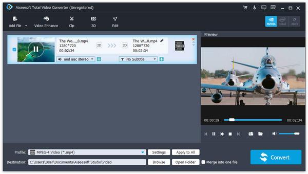Aiseesoft Total Video Converter windows