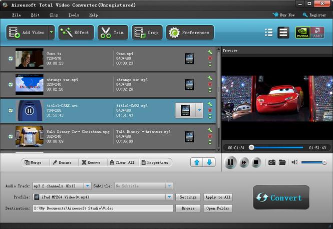 Aiseesoft Total Video Converter latest version