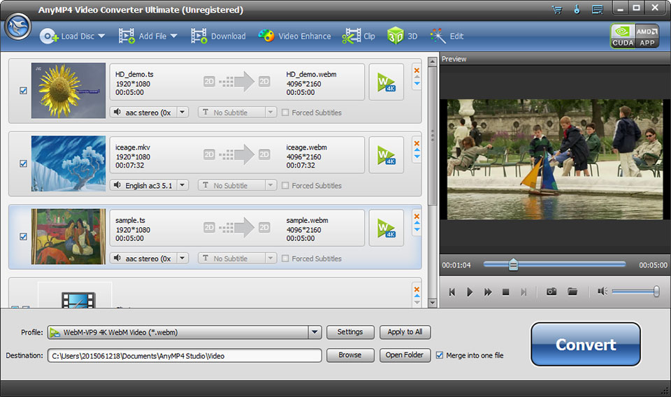 AnyMP4 Video Converter Ultimate latest version