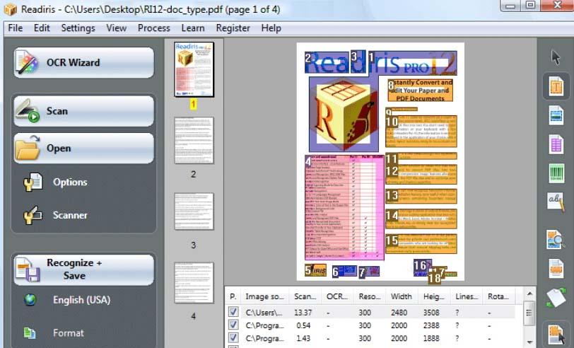 readiris pro ocr software free download