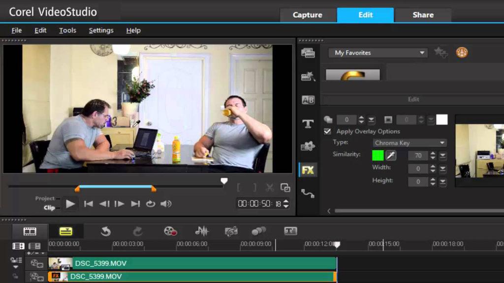 Corel VideoStudio Pro windows