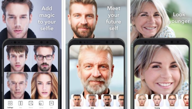 FaceApp for Android windows