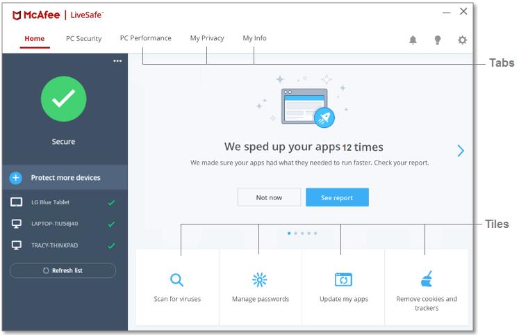 McAfee LiveSafe latest version