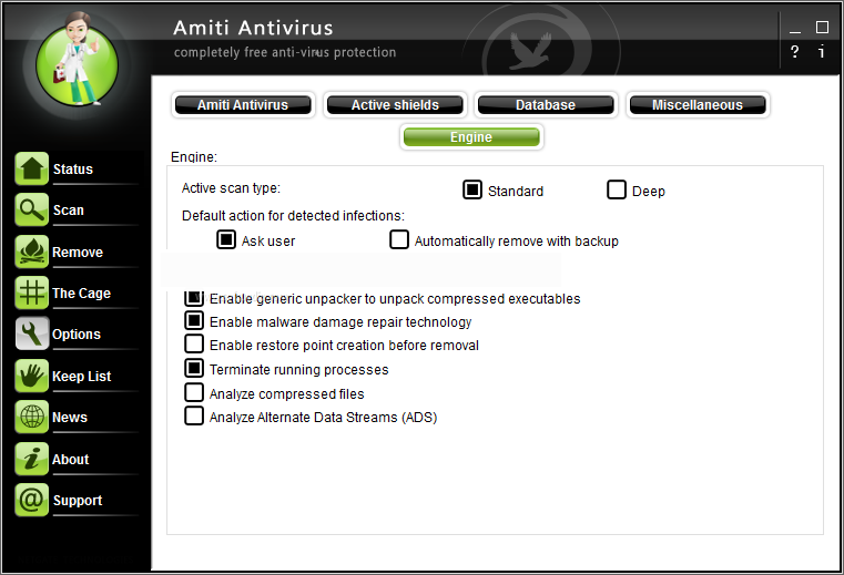Netgate Amiti Antivirus latest version