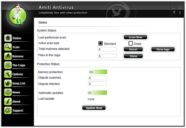 Netgate Amiti Antivirus windows
