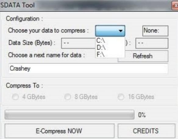 Sdata Tool windows
