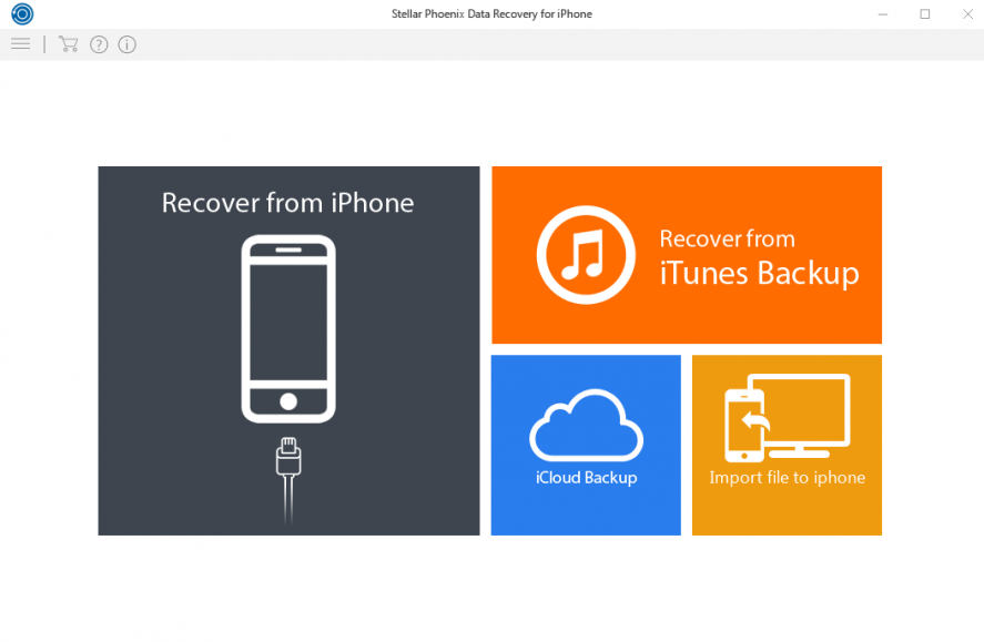 Stellar Data Recovery for iPhone latest version