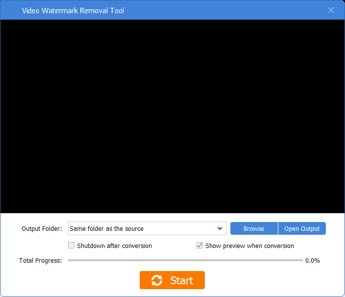 GiliSoft Video Watermark Removal Tool latest version
