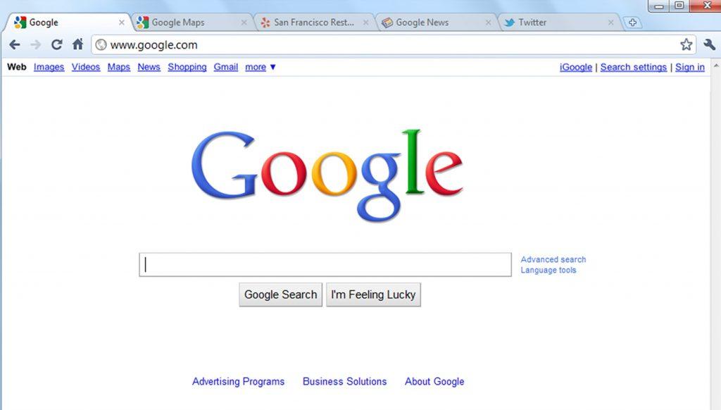 Google Chrome latest version